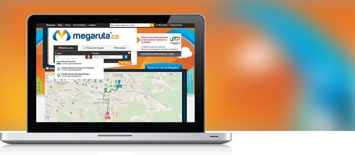 Megaruta Sistema de Optimización de Rutas e Información al Usuario SITP